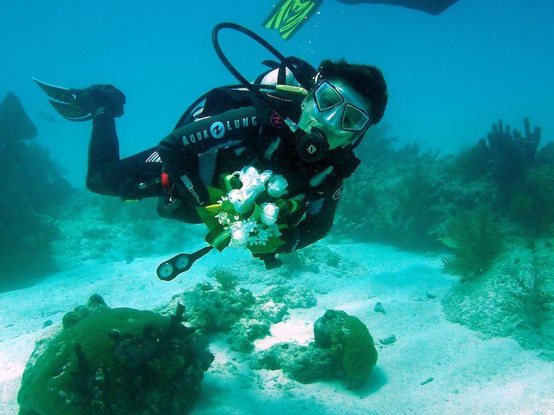 Underwater Matrimony